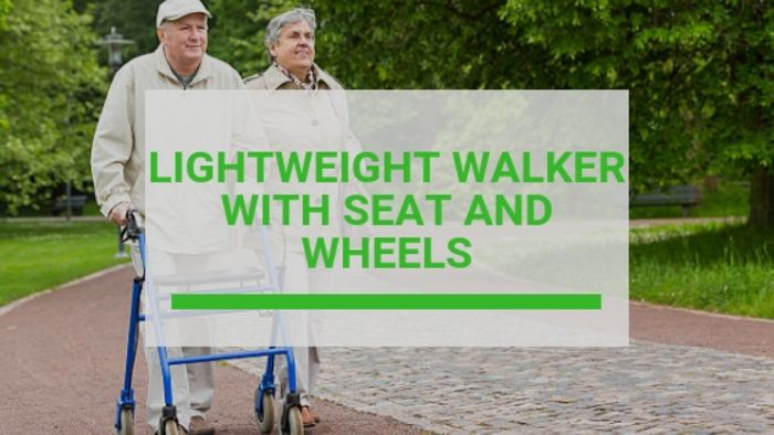 Lightweight Walker With Seat And Wheels (Reviews & Buying Guide 2020)