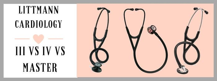 Littmann Cardiology III vs IV vs Master