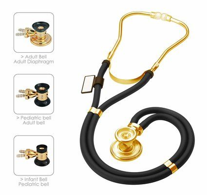MDF Sprague Rappaport Dual Head Stethoscope