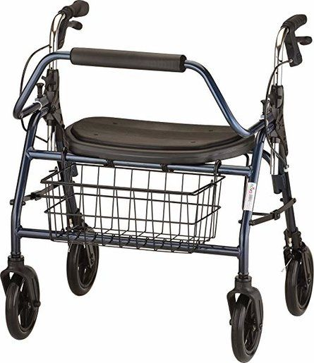 NOVA Mighty Mack Heavy Duty Rollator Walker