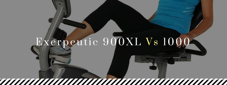 Exerpeutic 900XL vs 1000