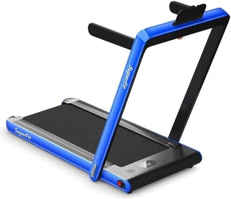 GYMAX 2 in 1 Under Desk Treadmill
