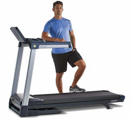 LifeSpan TR4000i Folding Treadmill
