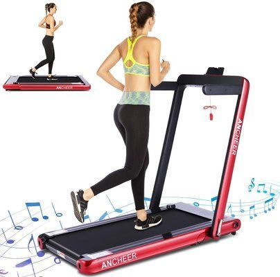 ANCHEER 2 in 1 Smart Folding Treadmill