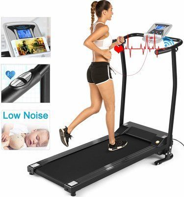 ANCHEER Folding Treadmill Electric Motorized Treadmill