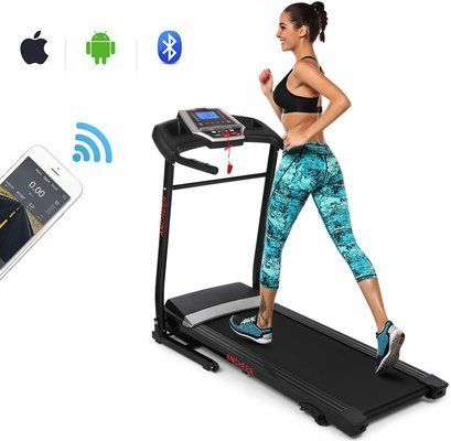 ANCHEER Treadmill Folding Electric Treadmills
