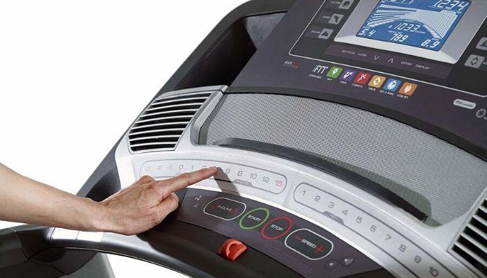 Treadmill With Fan