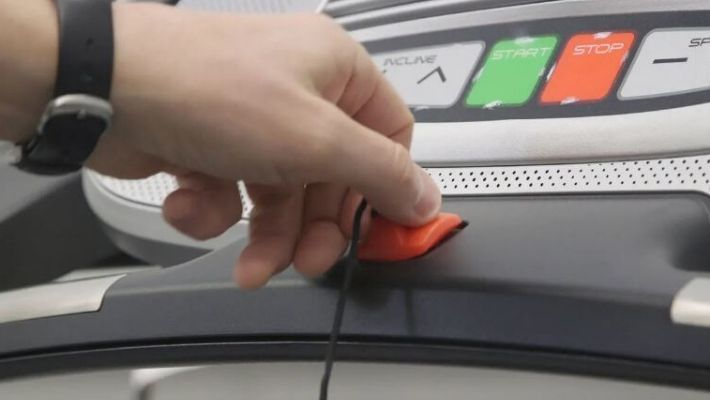 Treadmill Safety Key