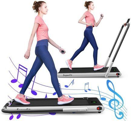 GYMAX Folding Treadmill
