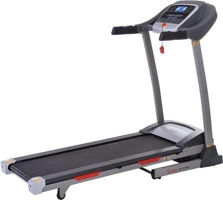 Sunny Health & Fitness Portable Treadmill