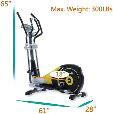 GOELLIPTICAL V-450X Standard Stride