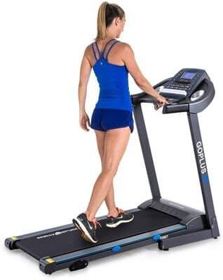 Goplus 2.25HP Electric Folding Treadmill
