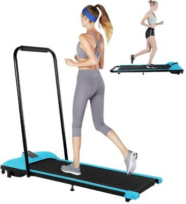 Leikf 2 in 1 Folding Treadmill