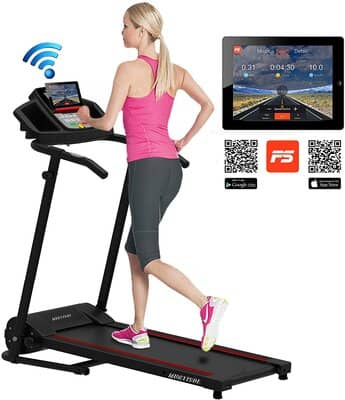 Murtisol Smart Digital Electric Folding Treadmill