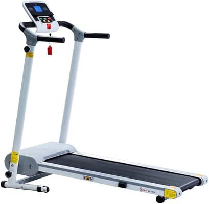 Sunny Health & Fitness Easy Assembly Motorized Walking Treadmill