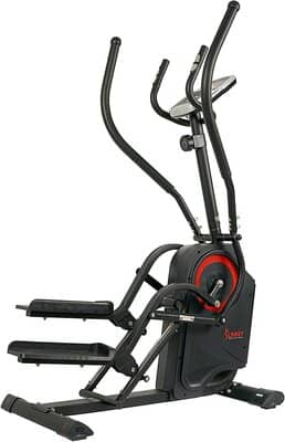 Sunny Health & Fitness Premium Cardio Climber Stepping Elliptical Machine