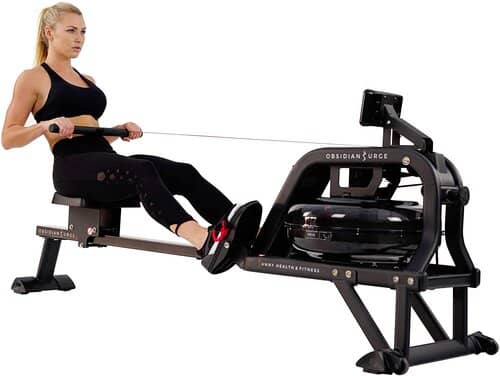 Sunny Health & Fitness Water Rowing Machine